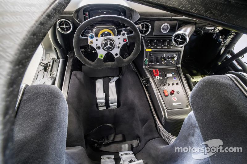 The 45th anniversary Mercedes-Benz SLS AMG GT3
