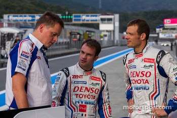 Nicolas Lapierre and Alexander Wurz