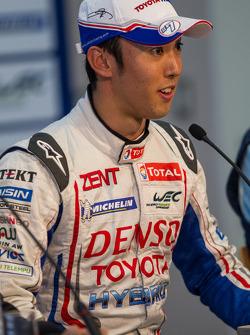 Pole winner Kazuki Nakajima