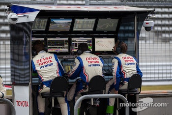 Toyota race engineers