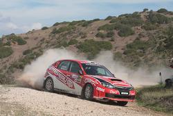 Nicolas Fuchs and Fernando Mussano, Subaru Impreza
