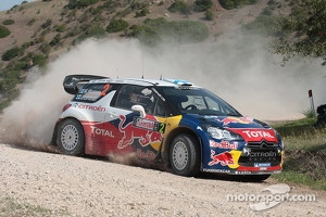 Mikko Hirvonen and Jarmo Lehtinen, Citron DS3 WRC, Citron Total World Rally Team
