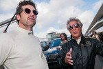 Patrick Dempsey and Mario Andretti