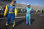 Ryan Newman and Matt Kenseth