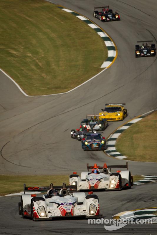 #06 CORE Autosport Oreca FLM09: Alex Popow, Ryan Dalziel, Mark Wilkins