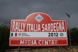 Media centre signage