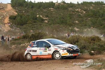 Andrea Carta and Marco Casalloni, Peugeot 207