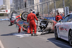 Big accident for Ricky Taylor