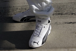 Bill Auberlen's shoes