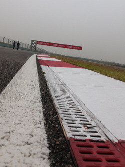 Shanghai Circuit during driver track walk thursday