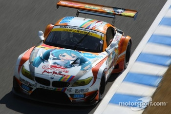 #0 GSR&Studie with Team Ukyo BMW Z4 GT3: Nobuteru Taniguchi, Tatsuya Kataoka