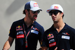 Jean-Eric Vergne, Scuderia Toro Rosso with Daniel Ricciardo, Scuderia Toro Rosso
