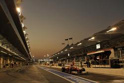 Fernando Alonso, Ferrari leaves the pits