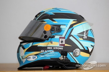 Eric Kwong, Chevrolet Cruze's helmet