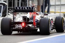 Antonio Felix da Costa, Red Bull Racing Test Driver running sensor equipment