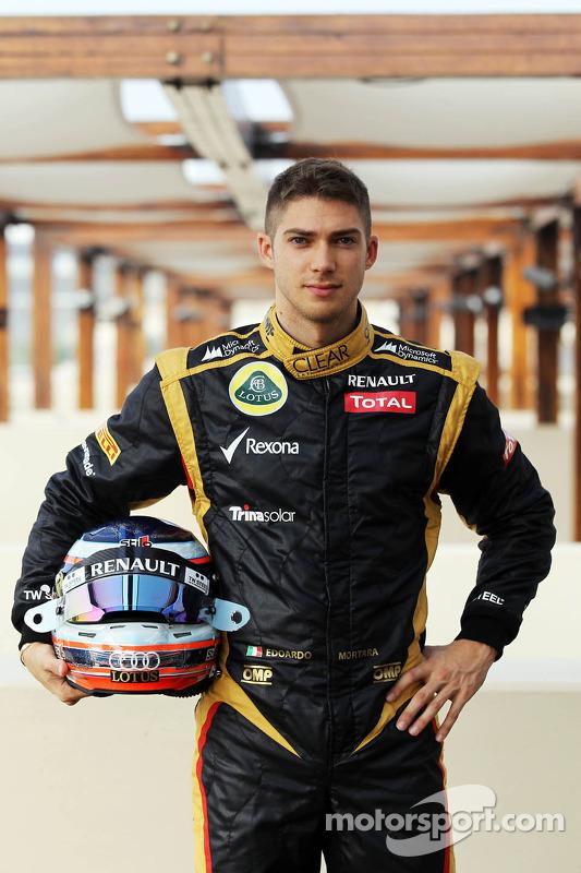 Edoardo Mortara, Lotus F1 Test Driver