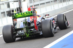Antonio Felix da Costa, Red Bull Racing Test Driver running new rear wing