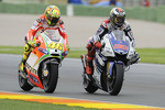Valentino Rossi and Jorge Lorenzo