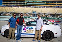 Pace car rides with David Ragan