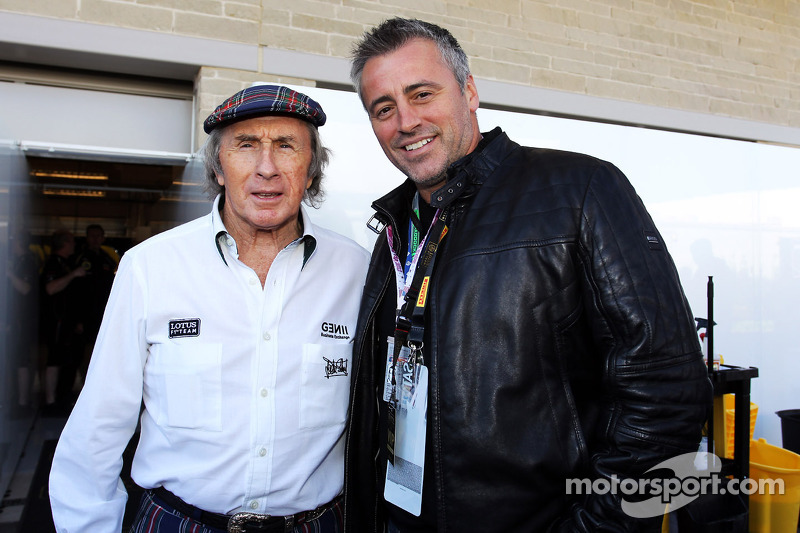 Matt LeBlanc, Actor with Jackie Stewart