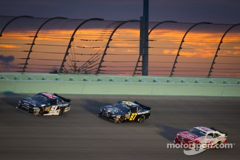 Jeremy Clements, Jeremy Clements Racing Chevrolet, Joe Nemechek, Nemco Motorsports Toyota, Kenny Wallace, Toyota