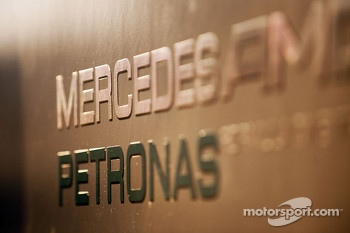 Mercedes AMG F1 logo