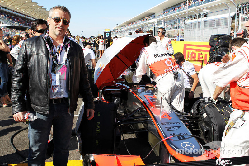 Matt LeBlanc, Actor on the grid