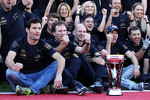 Red Bull Racing celebrate their constructors' championship