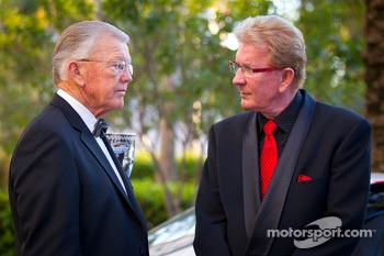 Joe Gibbs and Z-Line Designs President and CEO Jim Sexton