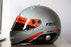 Helmet, Eurico de Jesus, Honda Accord Type-R, Five Auto Racing Team