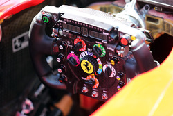 Ferrari F2012 steering wheel