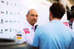Peter Sauber, Sauber President of the Board of Directors with the media