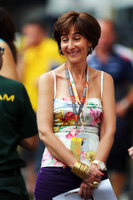 Viviane Senna, mother of Bruno Senna, Williams