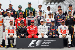 Drivers end of year team photograph