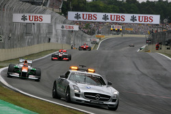 Nico Hulkenberg, Sahara Force India Formula One Team, safety car