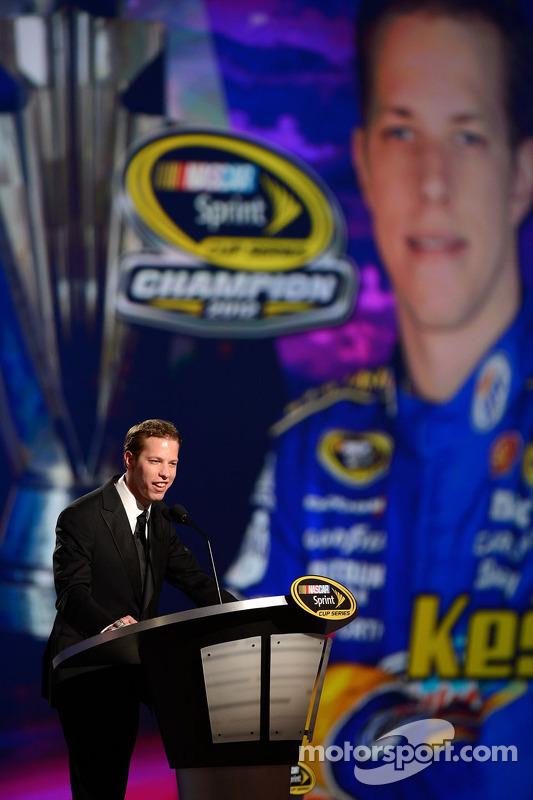 2012 champion Brad Keselowski