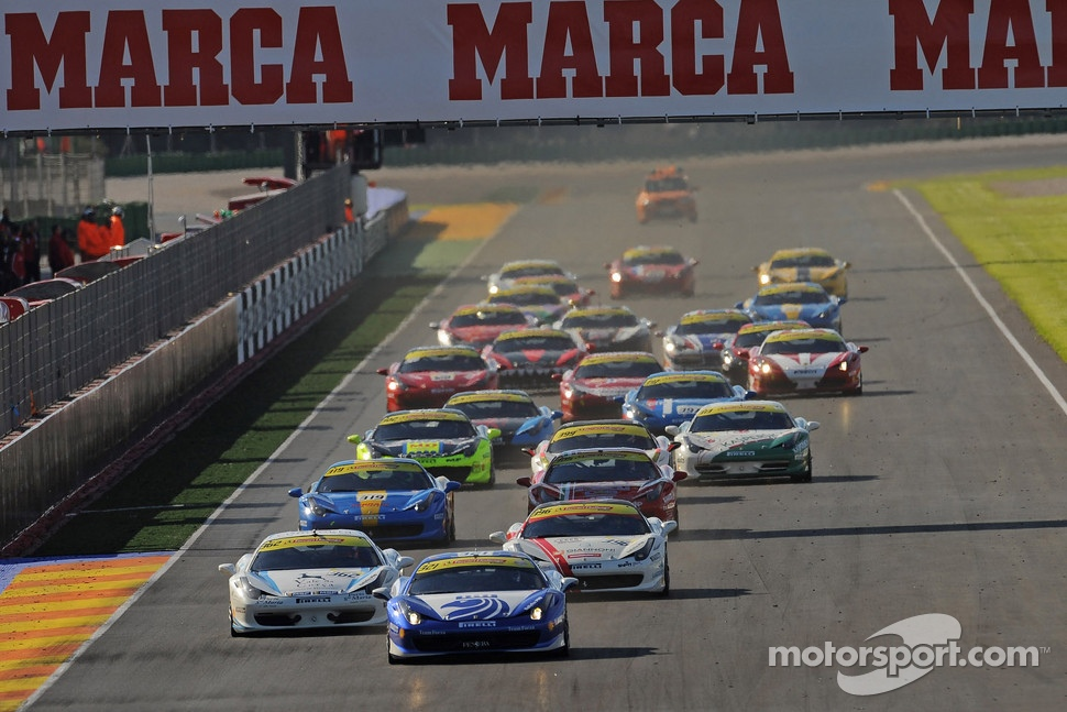 Coppa Shell, Europe race 2 start