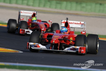 Felipe Massa and Fernando Alonso, Scuderia Ferrari