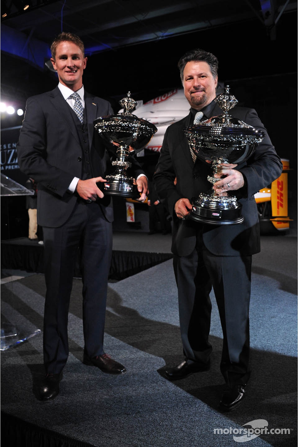 Ryan Hunter-Reay and Michael Andretti, Andretti Autosport