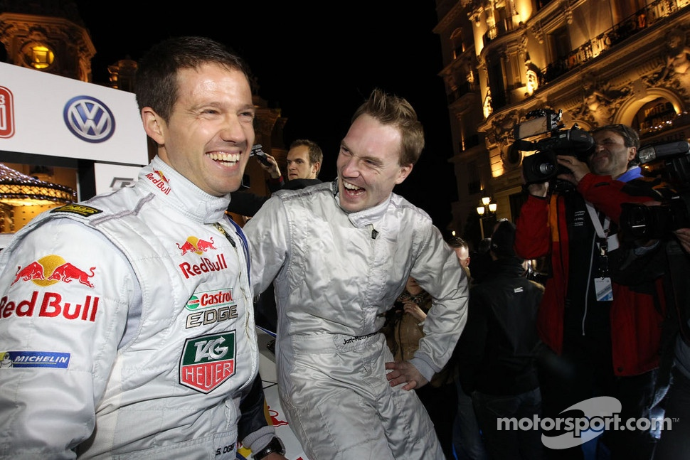 Jari-Matti Latvala and Sbastien Ogier