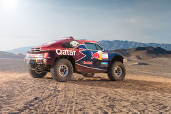 Qatar Red Bull Rally Team testing