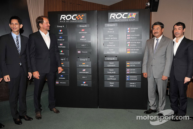 ROC founder Fredrik Johnsson leads a press conference