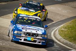 #215 Scangrip Racing / SFG Schönau e.V. im ADAC BMW E36 M3: Niels Borum, Maurice O'Reilly, Wayne Moore, Michael Eden