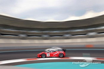 #3 Kessel Racing Ferrari 458 Italia: Michael Broniszewski, Philipp Peter, Daniel Zampieri