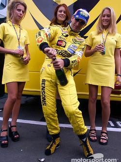 Jarno Trulli in charming company