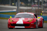 #63 Scuderia Corsa Ferrari 458: Alessandro Balzan, Marco Frezza, Alessandro Pier Guidi, Olivier Beretta