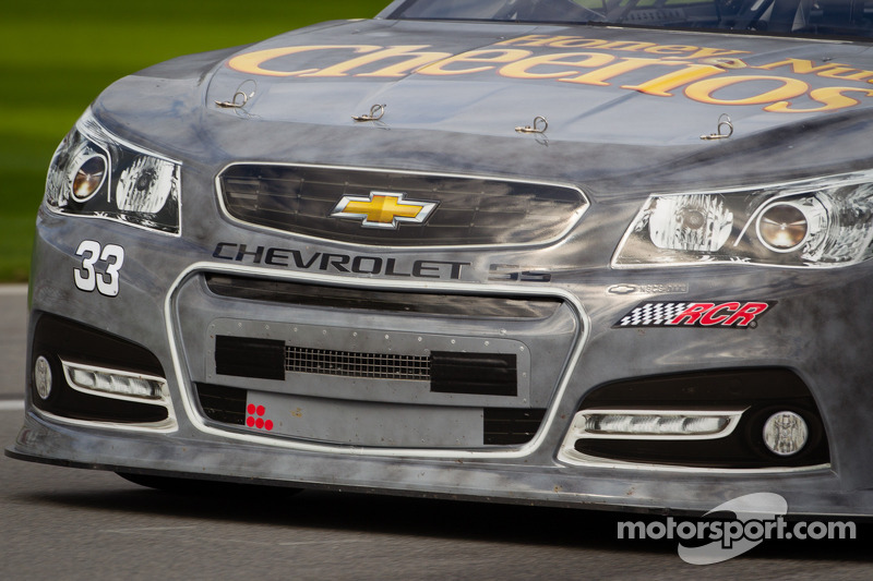 Austin Dillon, Richard Childress Racing Chevrolet, front detail