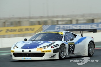 #30 Ram Racing Ferrari 458 Italia GT3: Cheerag Arya, Johnny Mowlem, Guy Smith, Gunnar Jeannette