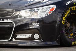 Jeff Gordon, Hendrick Motorsports Chevrolet, front end detail