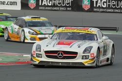 #14 de Lorenzi Racing Mercedes SLS AMG GT3: Gianluca de Lorenzi, Dan Norris-Jones, Olivier Baharian, Dario Paletto